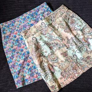 Pair of Talbot's Skirts 10P
